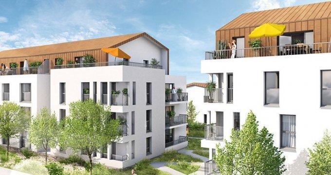 Achat / Vente immobilier neuf Couëron plein centre-ville (44220) - Réf. 2618