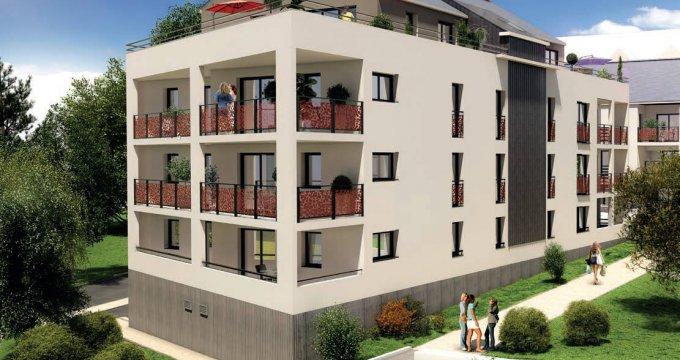 Achat / Vente immobilier neuf Grandchamp-des-Fontaines au cœur du centre bourg (44119) - Réf. 6225
