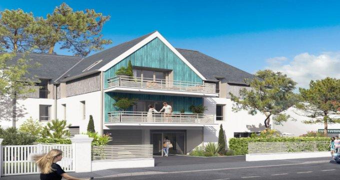 Achat / Vente immobilier neuf La Baule-Escoublac à 5 min front de mer (44500) - Réf. 5621
