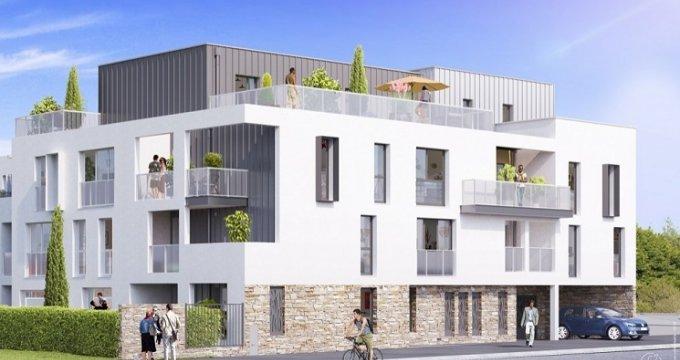 Achat / Vente immobilier neuf Les Sorinières centre-ville (44840) - Réf. 3492