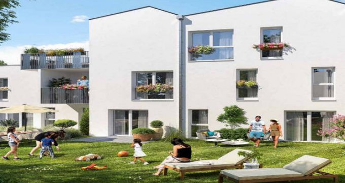 Achat / Vente immobilier neuf Nantes cœur quartier Halvêque-Beaujoire-Ranzay (44000) - Réf. 4930