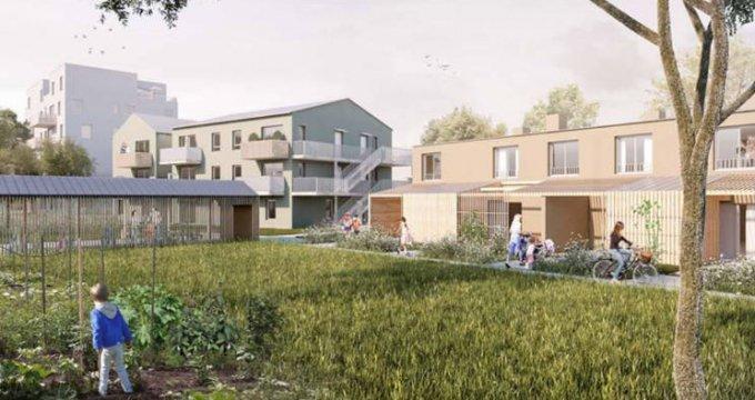 Achat / Vente immobilier neuf Nantes proche Erdre dans un quartier calme (44000) - Réf. 4065