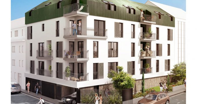 Achat / Vente immobilier neuf Nantes quartier Grillaud (44000) - Réf. 1341