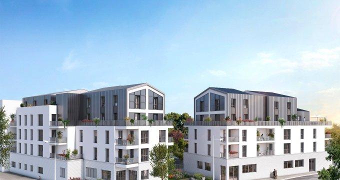 Achat / Vente immobilier neuf Rezé au cœur du quartier Butte de Praud (44400) - Réf. 6162