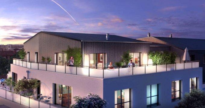 Achat / Vente immobilier neuf Rezé quartier 8 mai (44400) - Réf. 3809