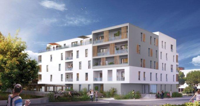 Achat / Vente immobilier neuf Saint-Nazaire à 600 mètres de la plage Porcé (44600) - Réf. 2832