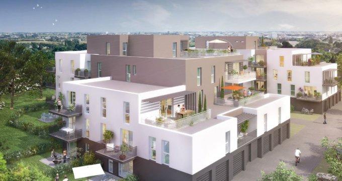 Achat / Vente immobilier neuf Saint-Nazaire environnement calme et boisé (44600) - Réf. 2819