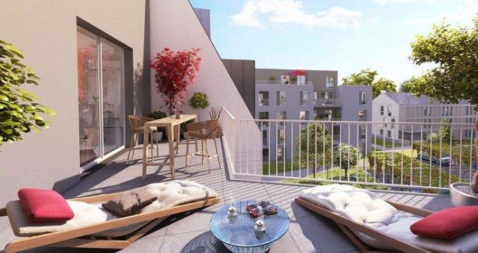 Achat / Vente immobilier neuf Sainte-Luce-sur-Loire en cœur de ville (44980) - Réf. 3485