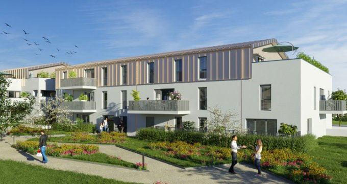 Achat / Vente immobilier neuf Sautron au cœur du quartier Brimberne (44880) - Réf. 5749