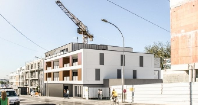 Achat / Vente immobilier neuf VERTOU QUARTIER DE LA GRAMMOIRE (44120) - Réf. 845