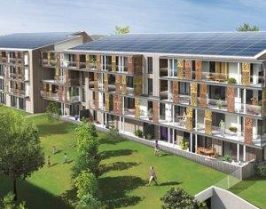 Achat / Vente immobilier neuf Carquefou écoquartier Fleuriaye (44470) - Réf. 508