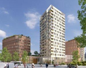 Achat / Vente immobilier neuf Nantes au cœur du quartier Euronantes (44000) - Réf. 4054