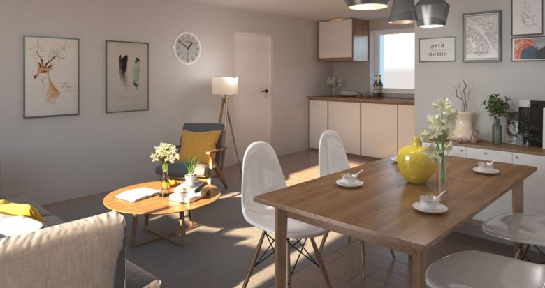 Achat / Vente immobilier neuf Bouaye proche centre (44830) - Réf. 3521