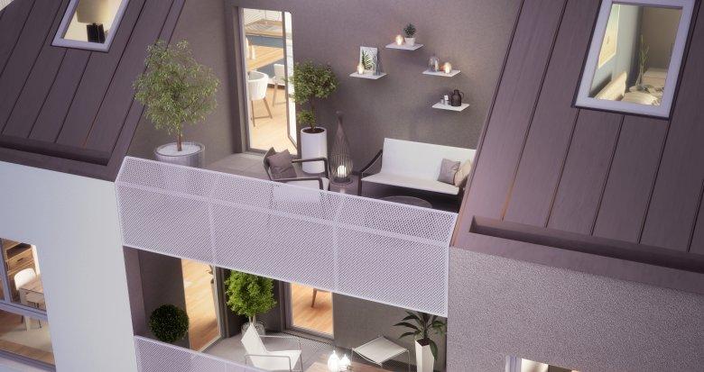 Achat / Vente immobilier neuf Bouguenais proche grandes axes (44340) - Réf. 2109