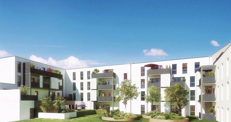 Achat / Vente immobilier neuf Carquefou cœur de bourg (44470) - Réf. 469
