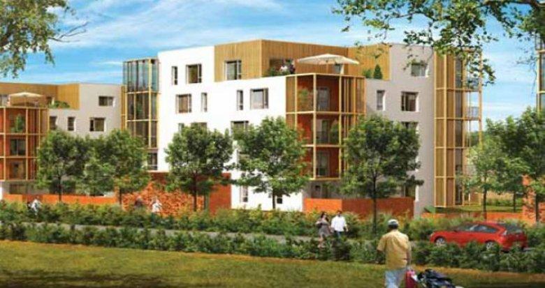 Achat / Vente immobilier neuf Carquefou face au golf (44470) - Réf. 460