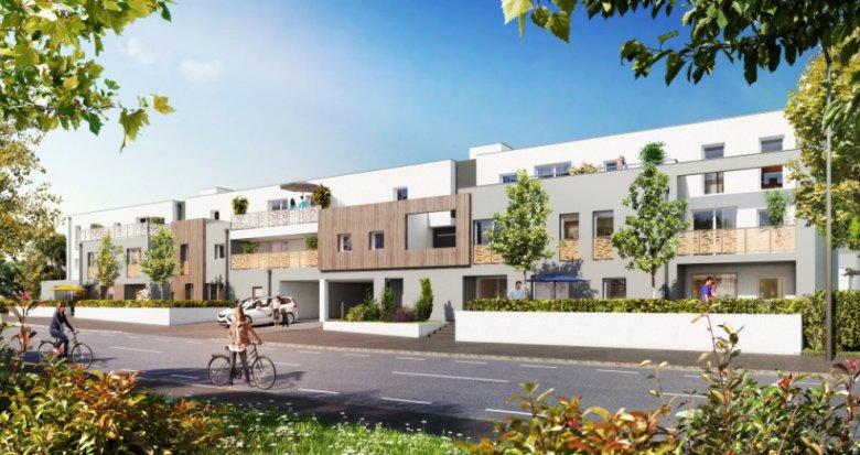 Achat / Vente immobilier neuf Carquefou quartier Housseau/Chêne vert (44470) - Réf. 1446
