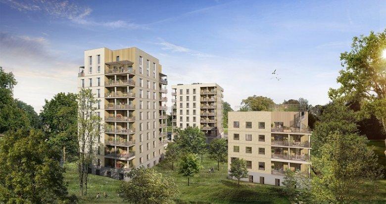 Achat / Vente immobilier neuf Cœur Boisé (44000) - Réf. 6028