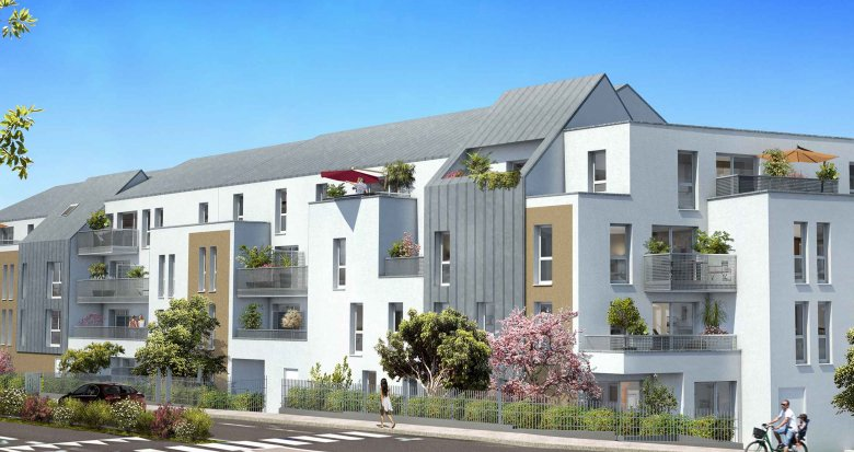 Achat / Vente immobilier neuf Couëron centre bourg (44220) - Réf. 589