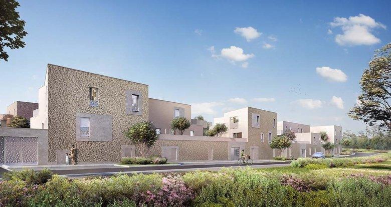 Achat / Vente immobilier neuf Couëron quartier de la Chabossière (44220) - Réf. 3483