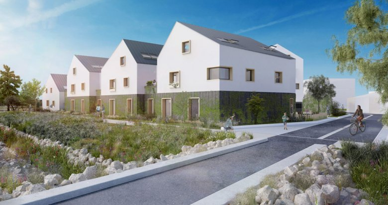 Achat / Vente immobilier neuf Guérande au coeur de l'éco-quartier de la Maison Neuve (44350) - Réf. 1655