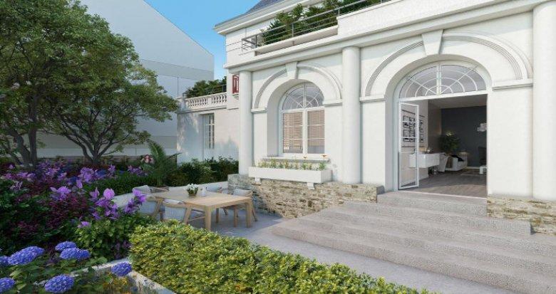 Achat / Vente immobilier neuf La Baule-Escoublac à 900 mètres de la plage (44500) - Réf. 5408