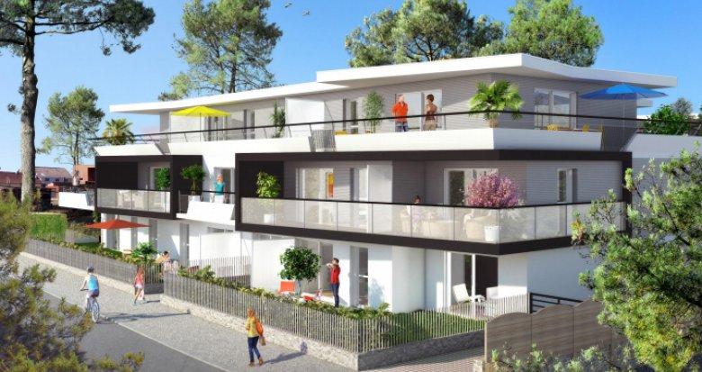 Achat / Vente immobilier neuf La Baule-Escoublac quartier du Bois d'Amour (44500) - Réf. 151