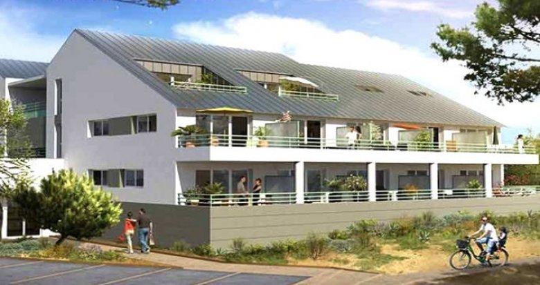 Achat / Vente immobilier neuf Le Croisic face à la mer (44490) - Réf. 118
