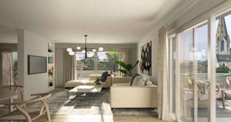 Achat / Vente immobilier neuf Les Sorinières au cœur du centre-ville (44840) - Réf. 5631