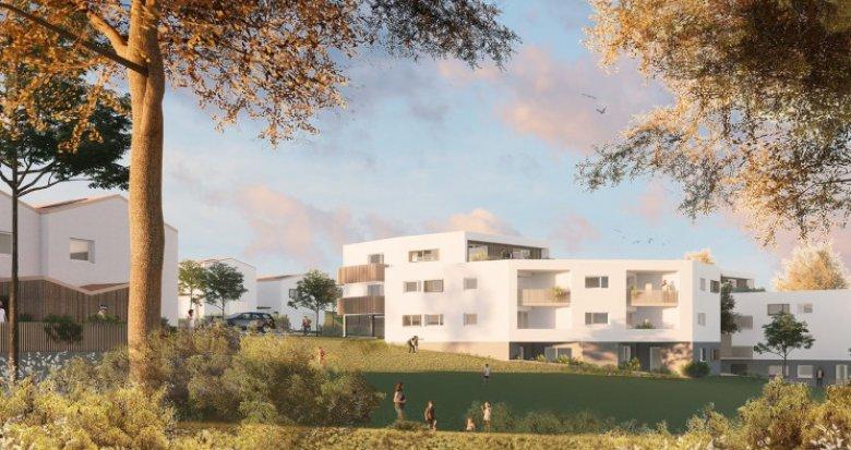 Achat / Vente immobilier neuf Mauves-sur-Loire à 2 min de la gare (44470) - Réf. 5423