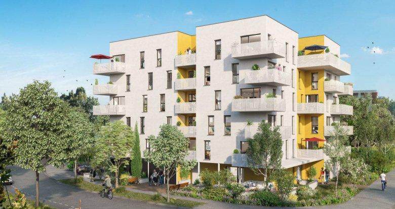 Achat / Vente immobilier neuf Nantes à 15 min du cœur de Nantes Erdre (44000) - Réf. 6222