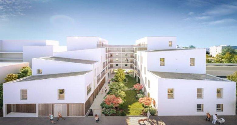 Achat / Vente immobilier neuf Nantes à 3min du tramway 1 Jamet (44000) - Réf. 5750