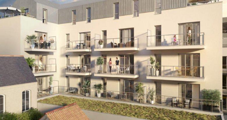 Achat / Vente immobilier neuf Nantes à 400 mètres du Canal Saint-Félix (44000) - Réf. 5946