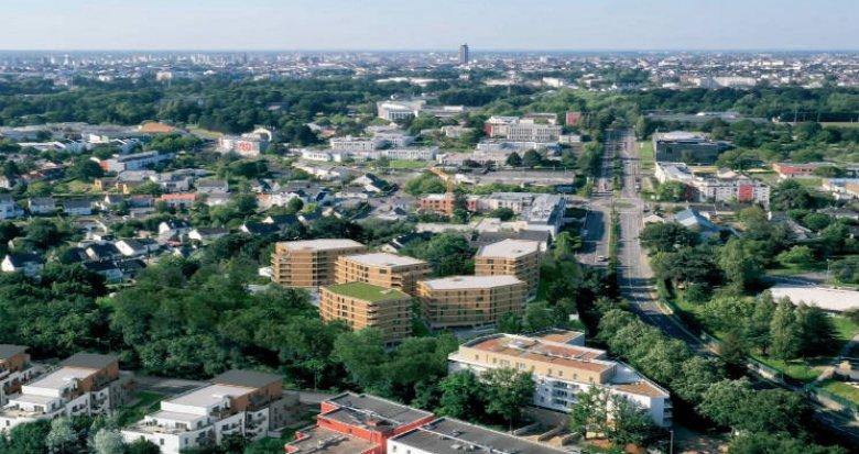 Achat / Vente immobilier neuf Nantes à 8 min à pied des universités (44000) - Réf. 4834