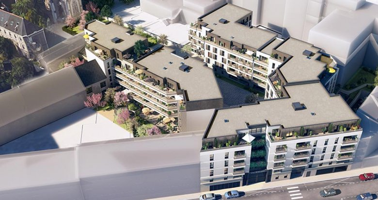 Achat / Vente immobilier neuf Nantes à côté du Tramway Viarme-Talensac (44000) - Réf. 1727