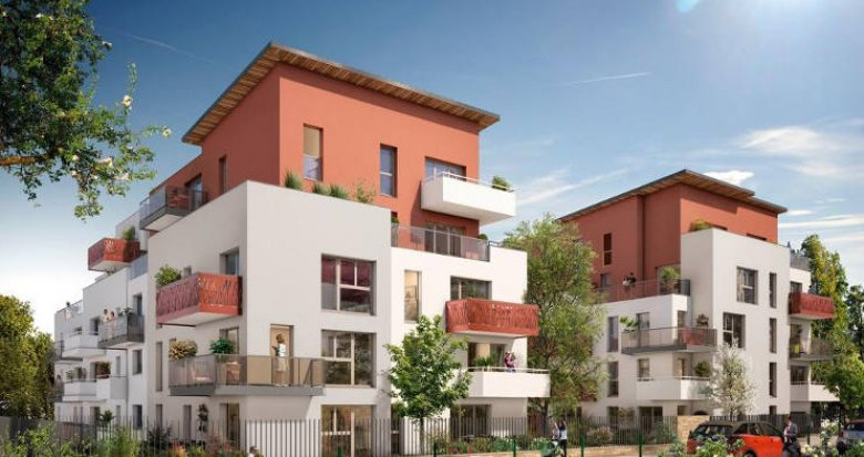 Achat / Vente immobilier neuf Nantes à proximité du tramway et des commerces (44000) - Réf. 2357