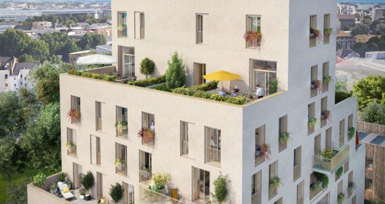 Achat / Vente immobilier neuf Nantes au coeur de l'île de Nantes (44000) - Réf. 5133