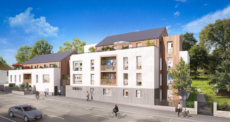 Achat / Vente immobilier neuf Nantes au coeur du quartier Contrie (44000) - Réf. 5295