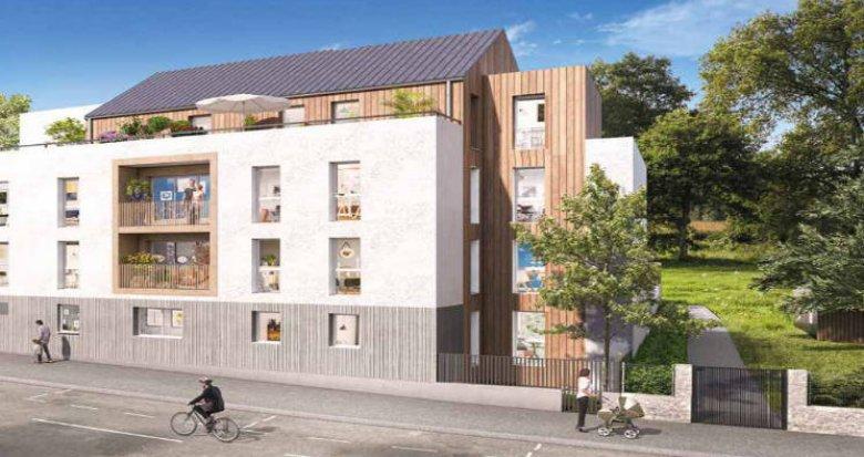 Achat / Vente immobilier neuf Nantes au cœur du quartier Contrie (44000) - Réf. 4968