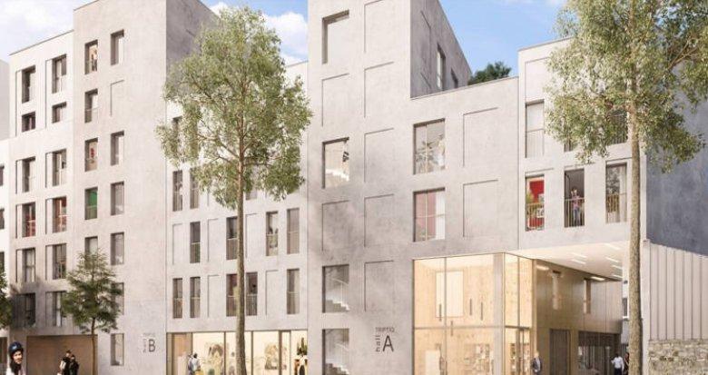 Achat / Vente immobilier neuf Nantes au cœur du quartier de l'Ile de Nantes (44000) - Réf. 3245