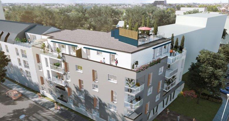 Achat / Vente immobilier neuf Nantes au cœur du quartier de Procé (44000) - Réf. 2208