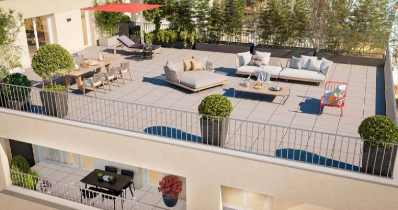 Achat / Vente immobilier neuf Nantes au cœur du quartier du Rond-point de Paris (44000) - Réf. 5884