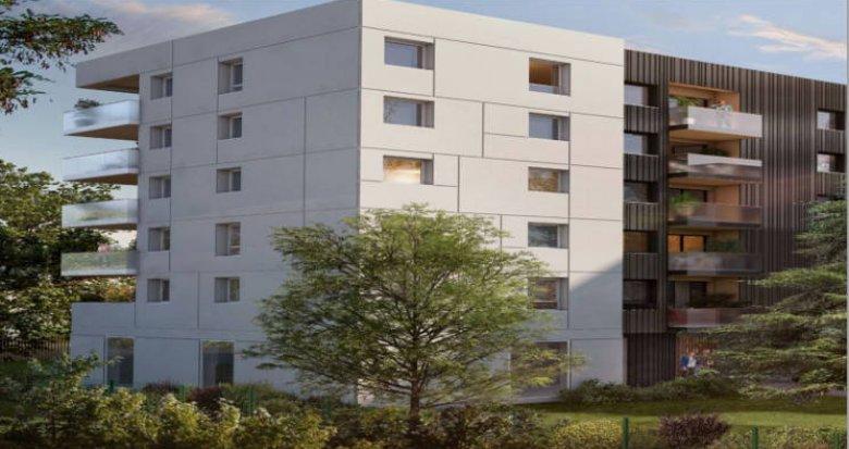 Achat / Vente immobilier neuf Nantes au cœur d'un environnement verdoyant (44000) - Réf. 4836
