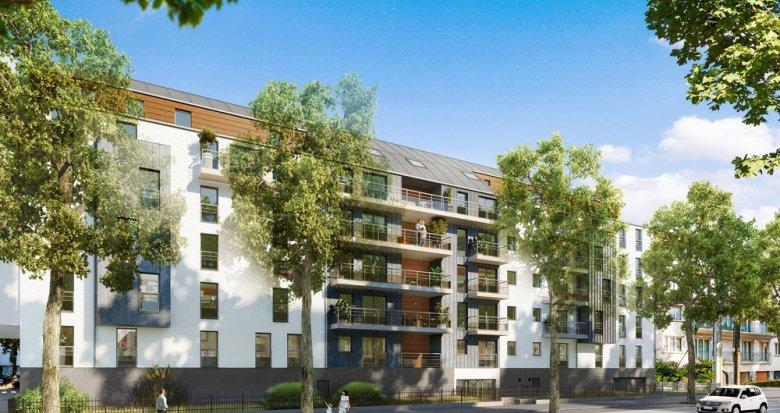 Achat / Vente immobilier neuf Nantes aux portes du parc de Procé (44000) - Réf. 277
