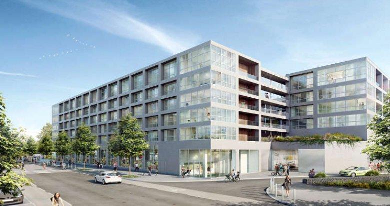 Achat / Vente immobilier neuf Nantes écoquartier de Bottière-Chênaie (44000) - Réf. 362