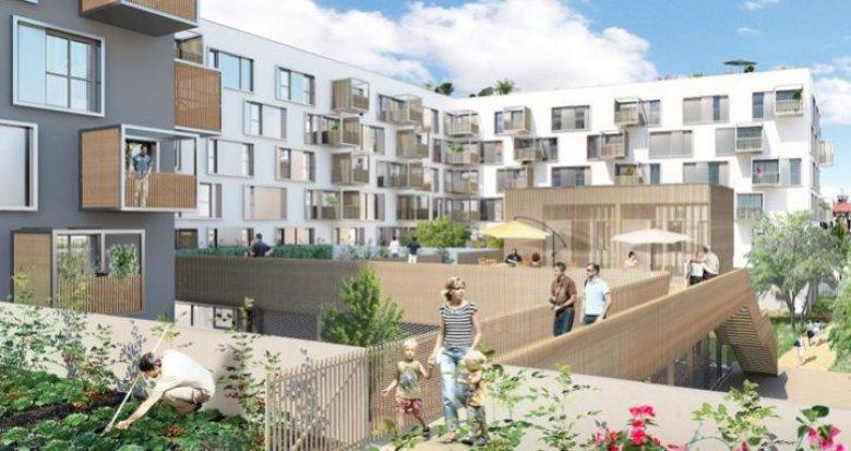 Achat / Vente immobilier neuf Nantes écoquartier Prairie au Duc (44000) - Réf. 1571