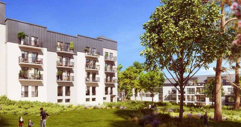 Achat / Vente immobilier neuf Nantes en centre-ville (44000) - Réf. 2451