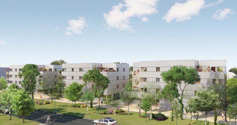 Achat / Vente immobilier neuf Nantes Erdre Porterie (44000) - Réf. 2215
