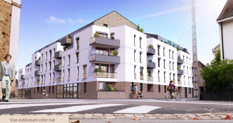 Achat / Vente immobilier neuf Nantes nouveau quartier Canclaux (44000) - Réf. 3487