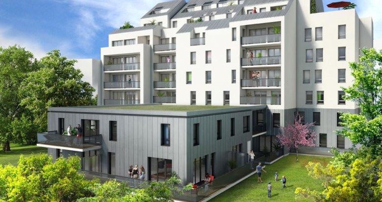 Achat / Vente immobilier neuf Nantes Parc de Procée (44000) - Réf. 1440